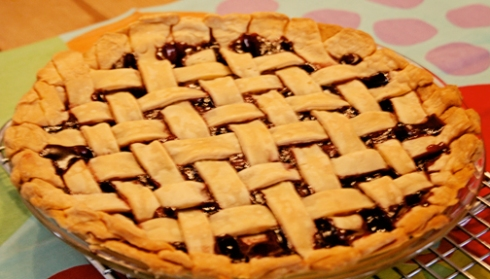 Domata Gluten Free Cherry Pie