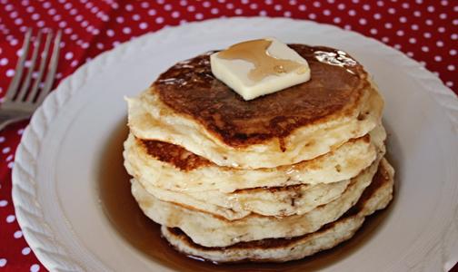 ... pancake breakfast! Airy and delicious, these gluten free pancakes are