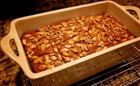 Doomata Gluten Free Pumpkin bread